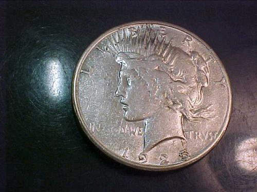 1925 S PEACE DOLLAR    ab10