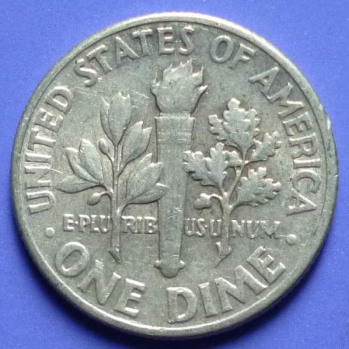 US United States Dime 10 Cents 1957 P km 195 Silver 0.0723 oz