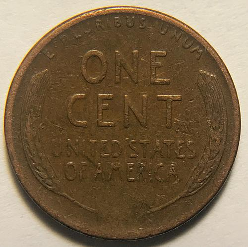 1948 D Lincoln Wheat Cent Bronze Composite Penny. V1P4R3