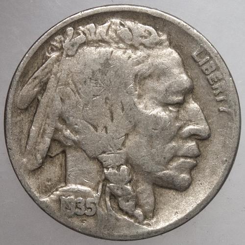 1935 D Buffalo Nickel#5