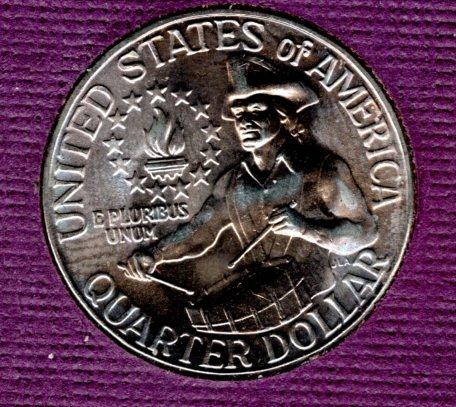 1976 D BU Washington Quarter #2