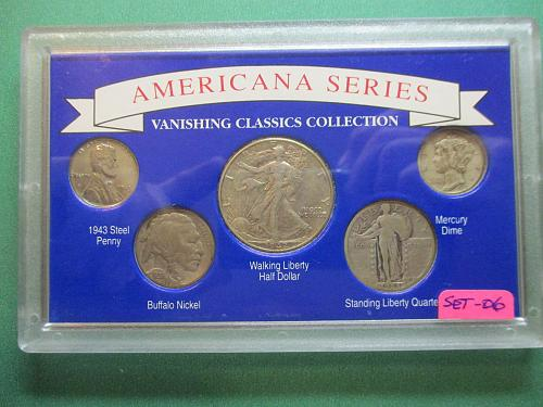 Americana Series Vanishing Classics Collections.  Item. Set 06.