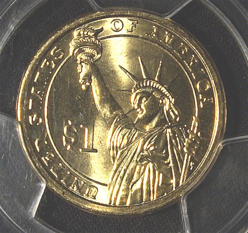 2007 D George Washington Presidential Dollar First Day of Issue
