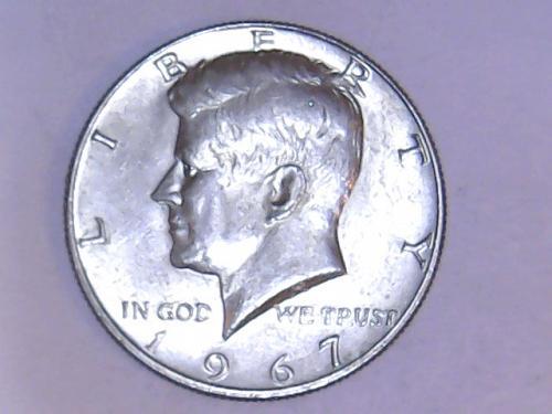 1967 P 40% Silver Kennedy Half Dollars