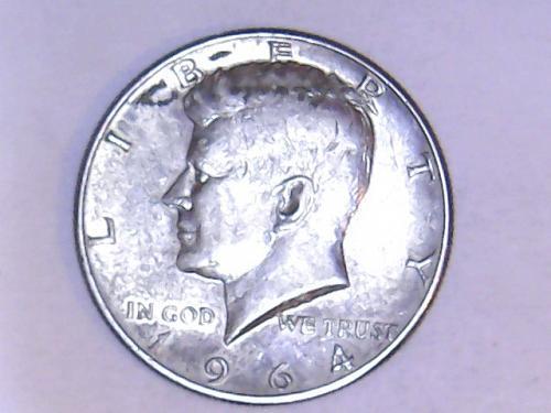 1964 P 90% Silver Kennedy Half Dollars