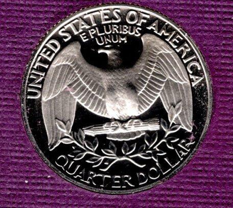 1980 S Washington Quarters - #3