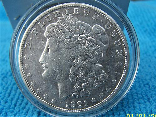 1921 S  SILVER DOLLAR FROM PRIVATE COLLECTION