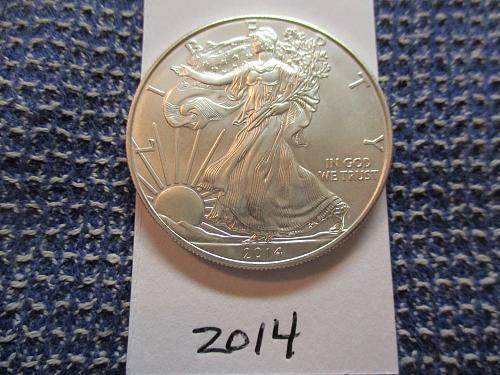 2014  American Silver Eagle.  Item: E 14.