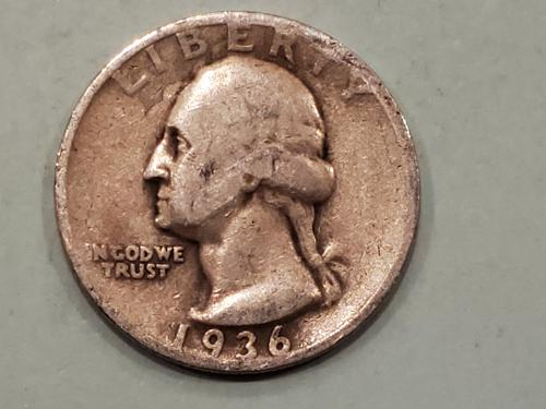 1936 Washington Quarter