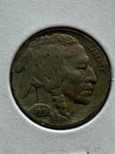 1936 Buffalo Nickel