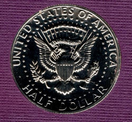 1972 s Proof Kennedy Half Dollar       #4