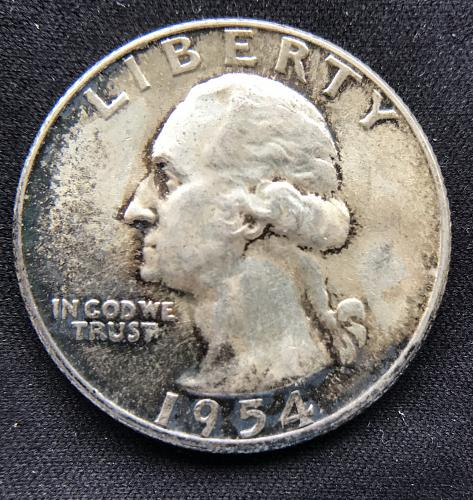 1954 Washington Quarter --90% Silver (917-2)