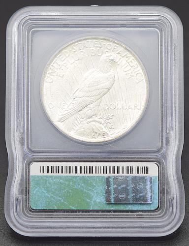 1922 Peace Dollars : Normal Relief Early Silver Dollars  GEM Luster (4 photos) S