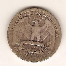 1943-S Washington Quarter