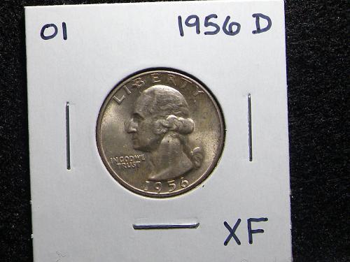 1956 D Washington Quarter