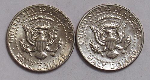 1979 P&D Kennedy Half Dollars in BU condition
