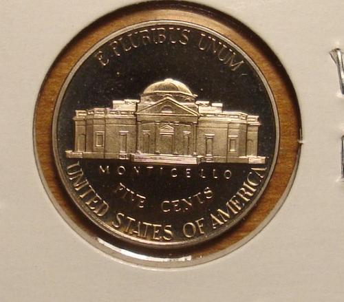 1993 S Jefferson Nickel Proof