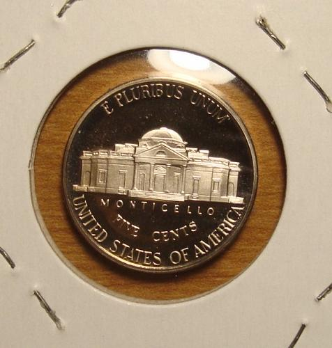 1996 S Jefferson Nickel Proof