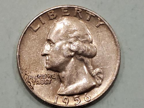 1956 Washington Quarter