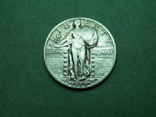 1930 S Standing Liberty Quarter x27