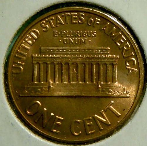 1959 D Lincoln Memorial Cent Copper Alloy Penny. V1P5R4