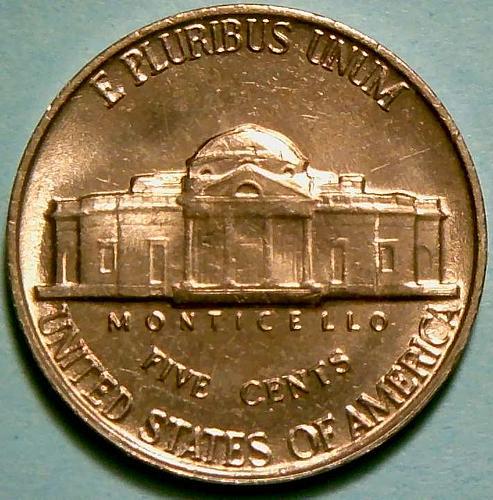 1960P Jefferson Nickels Pre-War Composition V3P1R5 - 2