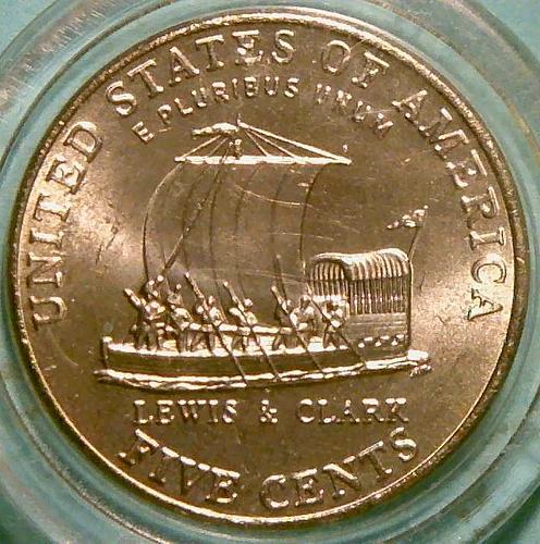 2004 P Jefferson Nickels : Keelboat Westward Journey Series Mint Proof V1P5R5