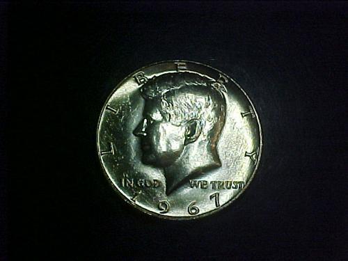 1967 KENNEDY HALF DOLLAR       ab89