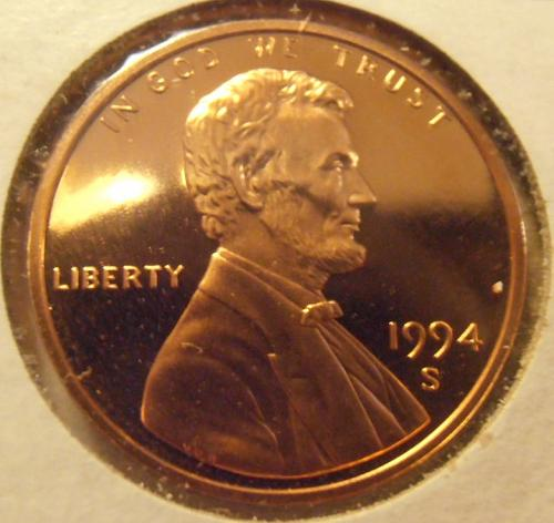 1994 S DCAM Lincoln Cent,