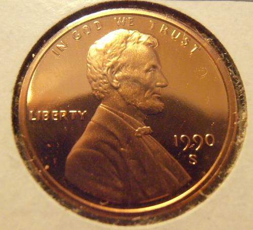 1990 S DCAM Lincoln Cent