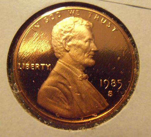 1985 S DCAM Lincoln Cent