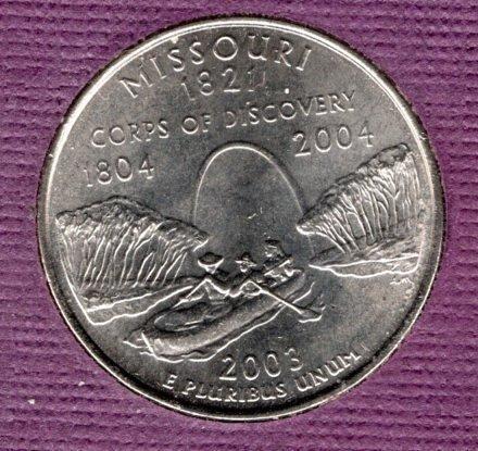 2003d BU Missouri Washington Quarter #3