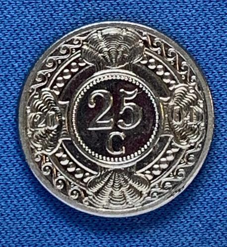 2004 Netherlands Antilles 25 c Guilder