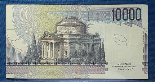 1984 - 10,000 Lire Italian Note