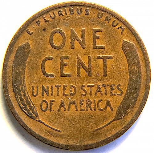 1926 Lincoln Wheat Cent Bronze Composite Penny V1P7R2