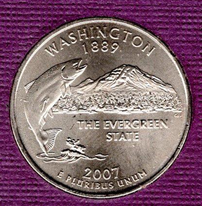 2007 P Washington 50 States and Territories Quarters - #3