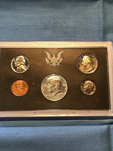 Proof Set; U.S. Mint 1970
