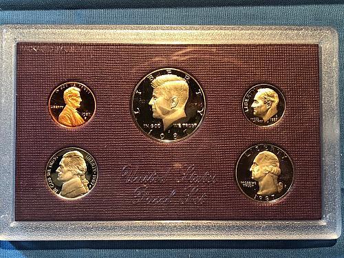 Proof Set; U.S. Mint 1987