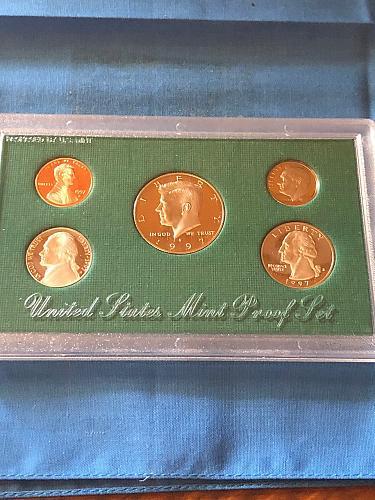 Proof Set; U.S. Mint 1997