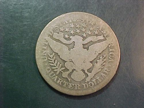 1895 BARBER QUARTER      ac13