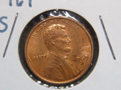 LINCOLN MEMORIAL 1969 S CENT