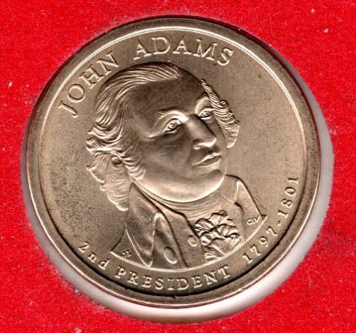 2007 P Presidential Dollars: John Adams -#2