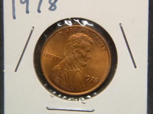 LINCOLN MEMORIAL 1978 P CENT