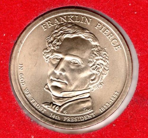 2010 P Presidential Dollars: Franklin Pierce -#2