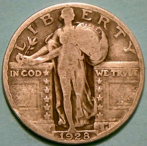 1928 Standing Liberty Quarters Type 2
