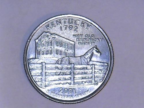 2001 D Kentucky State Quarter