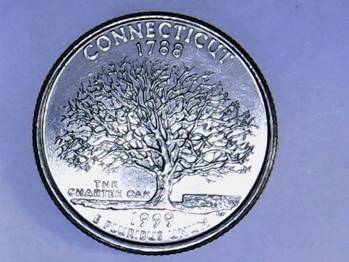 1999 P Connecticut State Quarter
