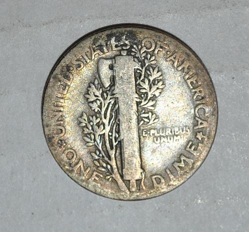 1927 P Mercury Dime G424