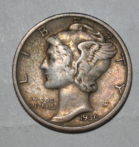 1936 P Mercury Dime G426