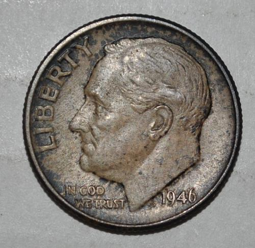 1946 P Roosevelt Dime G437